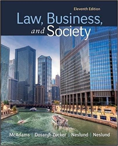 (eBook PDF) Law, Business and Society 11th Edition