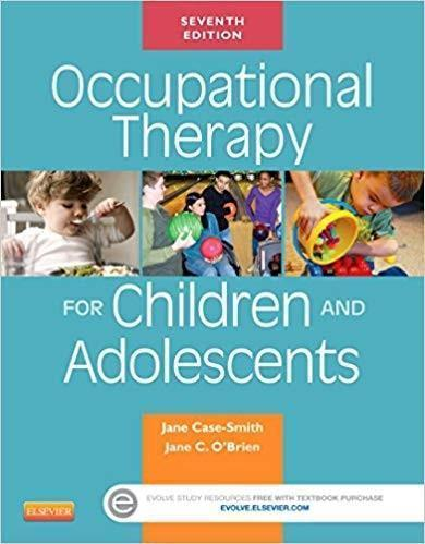 Occupational Therapy for Children and Adolescents 7th Edition
