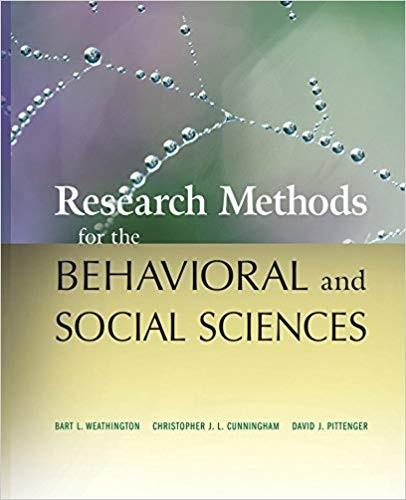 Research Methods for the Behavioral and Social Sciences (eBook PDF)