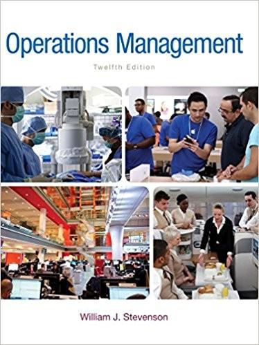 (eBook PDF) Operations Management 12th Edition by William Stevenson
