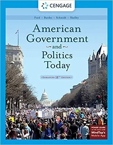 (eBook PDF) American Government and Politics Today, Enhanced 18th Edition