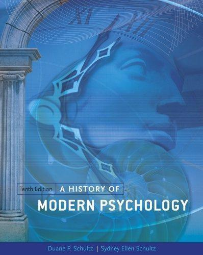 A History of Modern Psychology 10th Edition
