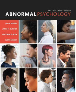 Abnormal Psychology 17th 17E Jill Hooley