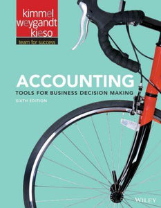 Accounting Tools for Business Decision Making 6th 6E