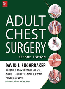 Adult Chest Surgery 2nd Edition by David Sugarbaker