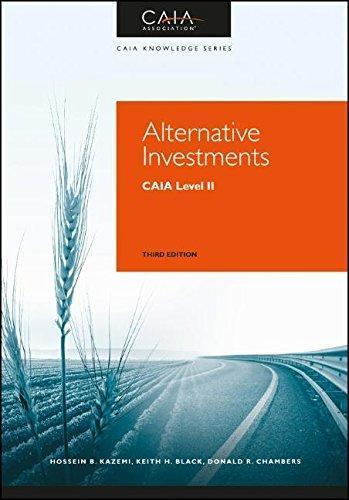 Alternative investments; CAIA level II 3rd Edition