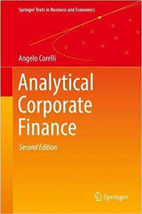 Analytical Corporate Finance, 2nd Edition