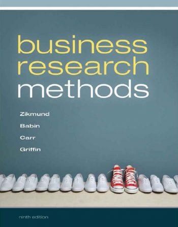Business Research Methods 9th 9E Zikmund