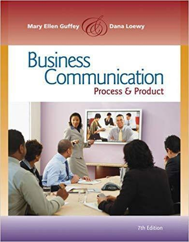 Business Communication: Process and Product 7th Edition