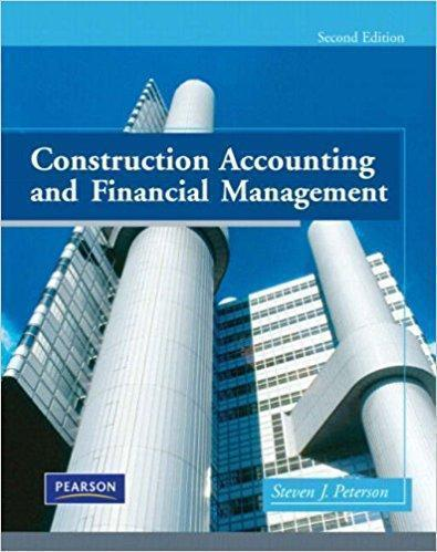 Construction Accounting & Financial Management 2nd Edition