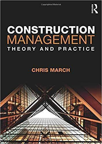 Construction Management: Theory and Practice