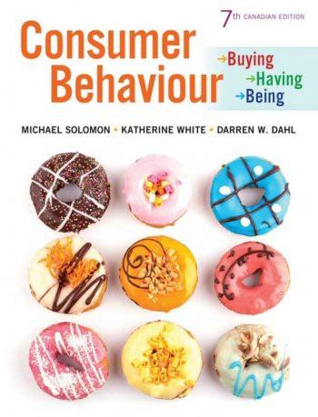 Consumer Behaviour: Buying, Having, Being 7th 7E