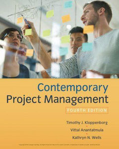 Contemporary Project Management 4th 4E