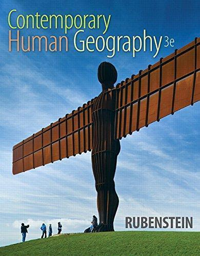 Contemporary Human Geography 3rd Edition