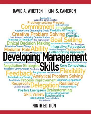 Developing Management Skills 9th 9E