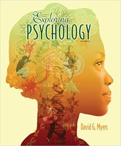 Exploring Psychology 9th Edition