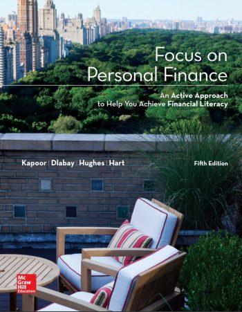 Focus on Personal Finance 5th 5E Jack Kapoor