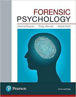 Forensic Psychology 5th