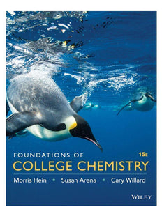 Foundations of College Chemistry 15th Edition