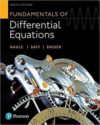 Fundamentals of Differential Equations 9th Edition