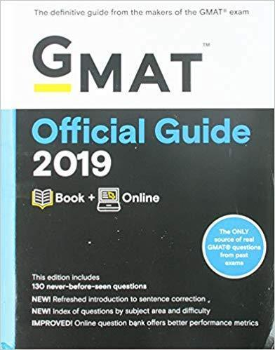 GMAT Official Guide 2019 3rd Edition