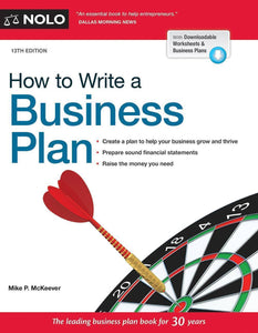 How to Write a Business Plan, 13th Edition