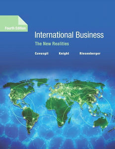 International Business The New Realities 4th by Cavusgil