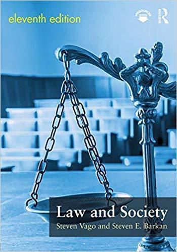 Law and Society 11th Edition