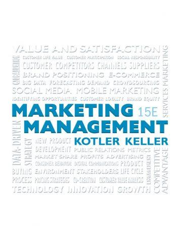 Marketing Management 15th 15E Philip Kotler
