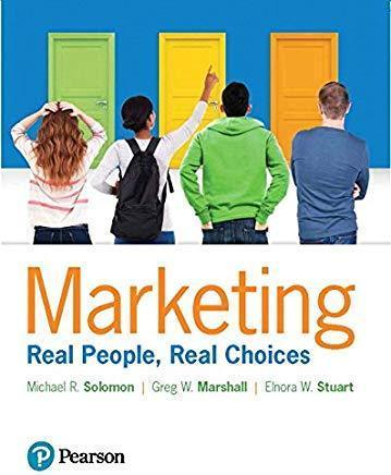 Marketing: Real People, Real Choices 9th edition