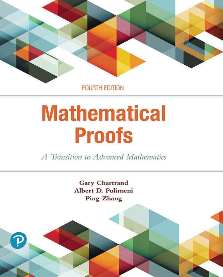 Mathematical Proofs 4th Edition By Gary Chartrand
