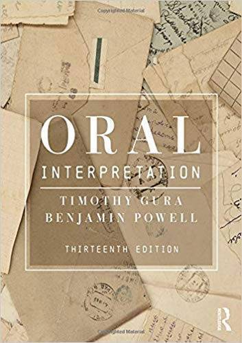 Oral Interpretation, 13th Edition