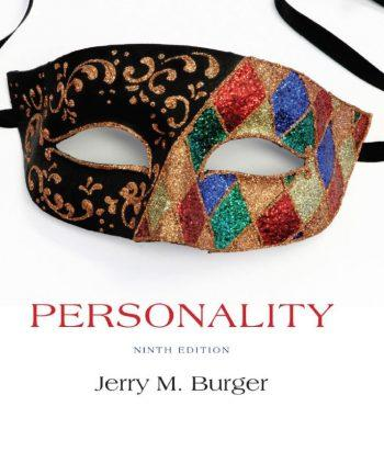 Personality 9th 9E Jerry Burger