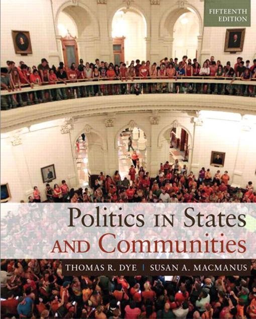 Politics In States And Communities 15th Edition
