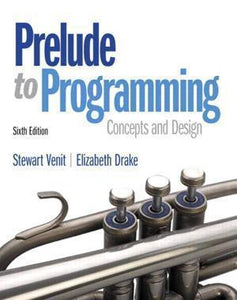 Prelude to Programming 6th Edition