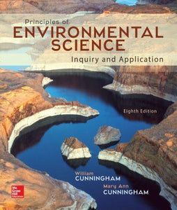 Principles of Environmental Science 8th 8E