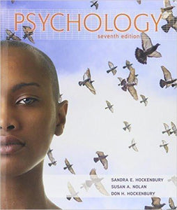 Psychology 7th Edition by Sandra Hockenbury