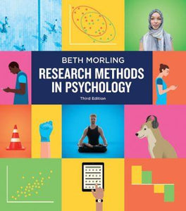Research Methods in Psychology 3rd 3E Morling