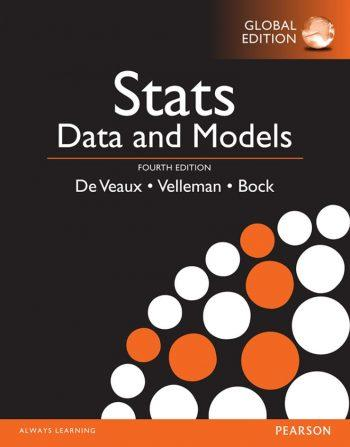 Stats; Data and Models 4th 4E De Veaux