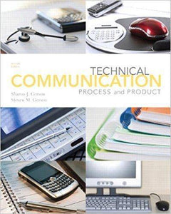 Technical Communication: Process and Product 7th Edition