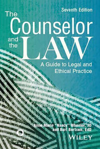 The Counselor and the Law 7th Edition