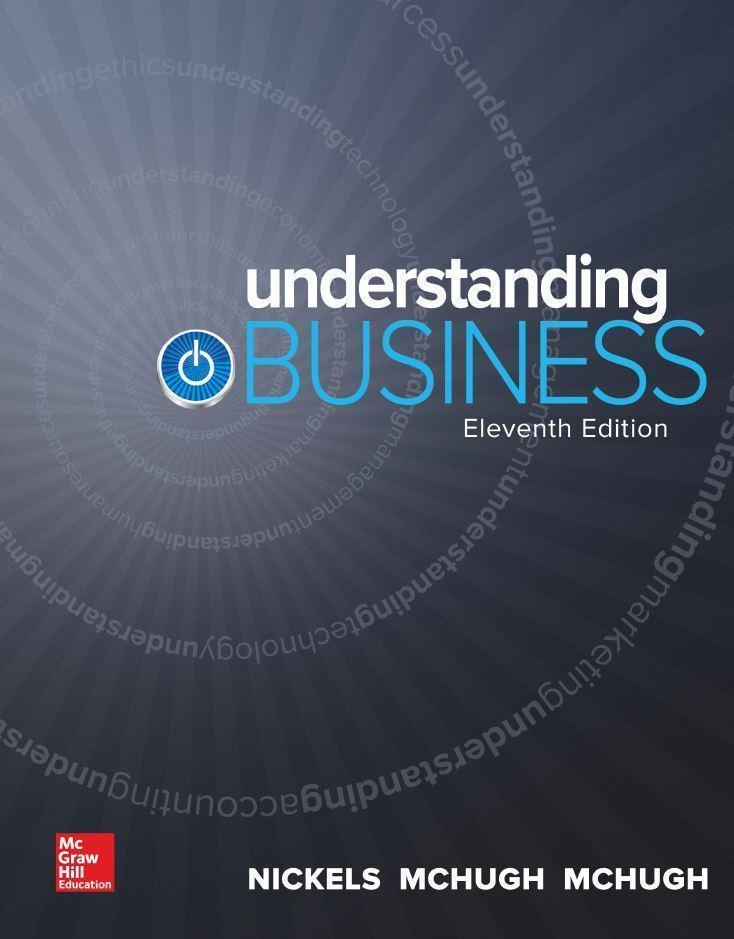Understanding Business 11th Edition by William Nickels