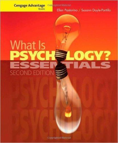 What is Psychology Essentials 2nd Edition