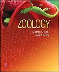 Zoology 10th edition by Stephen Miller; John Harley