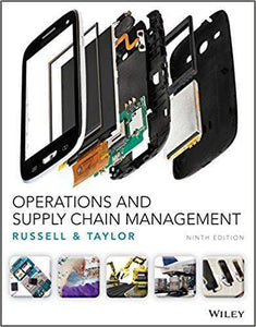 Operations and Supply Chain Management 9th Edition