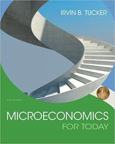 Microeconomics For Today 9th Edition by Irvin B. Tucker