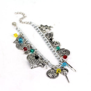 Movie Game of Thrones Charm Bracelet