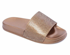 Slippers Flip Flops Summer Slides Women Shoes Crystal Diamond Bling Beach Slides Sandals Casual Shoes Slip On