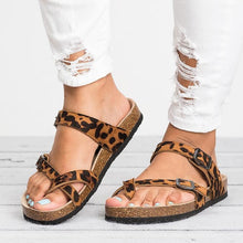 Load image into Gallery viewer, Women Sandals Rome Style Summer Sandals Flip Flops Plus Size 35 43 Flat Sandals Beach Summer Zapatos Mujer Casual Shoes