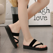 Load image into Gallery viewer, Women Summer Non-slip Platform Shoes Wedges Woman Outdoor Beach Slippers Sandals
